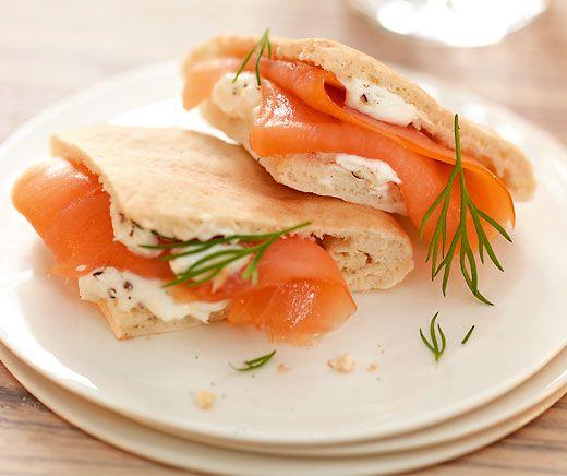 Mini-Sandwich Salmone