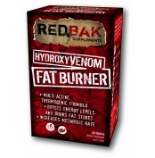 Redbak Hydroxy Venom Fat Burner Tablets 60  RedBak HydroxyVenom Fat Burner tablets are designed to help you lose weight and BOOST your energy levels. Formulated by pharmacists, RedBak HydroxyVenom includes all the active ingredients to support your weight loss.  RedBak HydroxyVenom has been clinically formulated to: - Increase your ability to burn fat stores  - Suppress your appetite   For more info visit: http://www.gymandfitness.com.au/redbak-hydroxy-venom-fat-burner-tablets-60.html