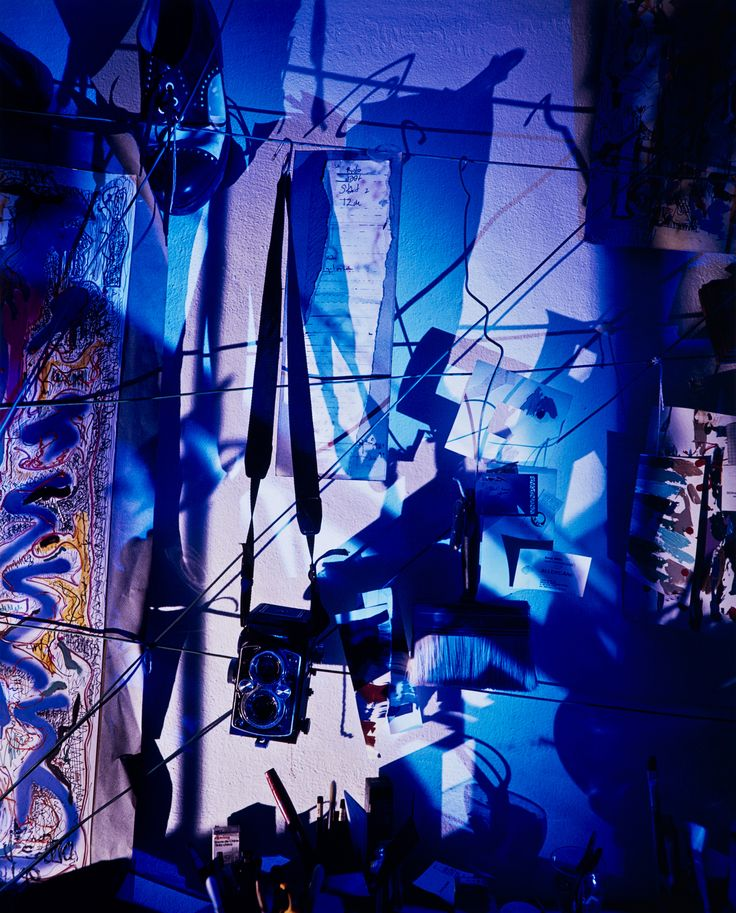 YİĞİT YAZICI / MAVİ GÖLGE - BLUE SHADOW   1/3 + 1AP - Arşivsel Pigment Baskı / Archival Pigment Print, 100 X 80 cm, 1991.