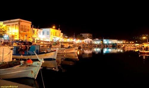 Myrina Port, Lemnos Island, Greece