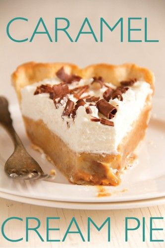 Caramel Cream Pie from Sippity Sup
