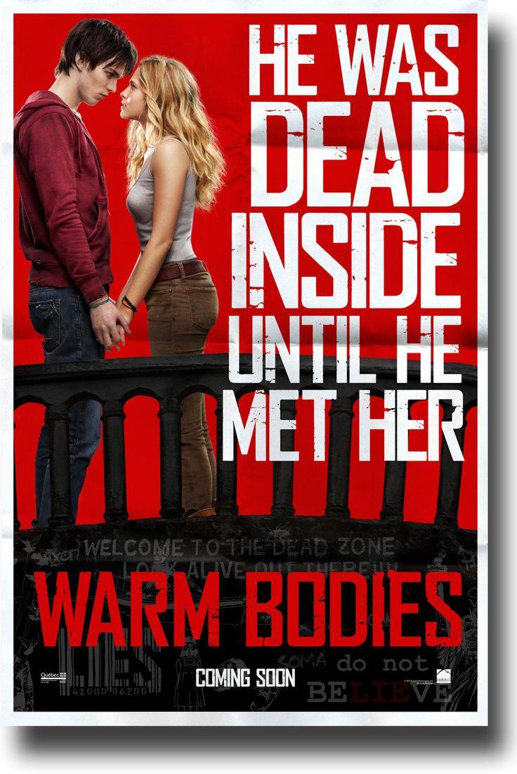 Warm Bodies Movie Poster - $9.84 #NicholasHoult #Warm Bodies #TeresaPalmer
