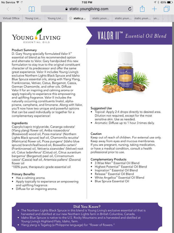 Young Living Valor II