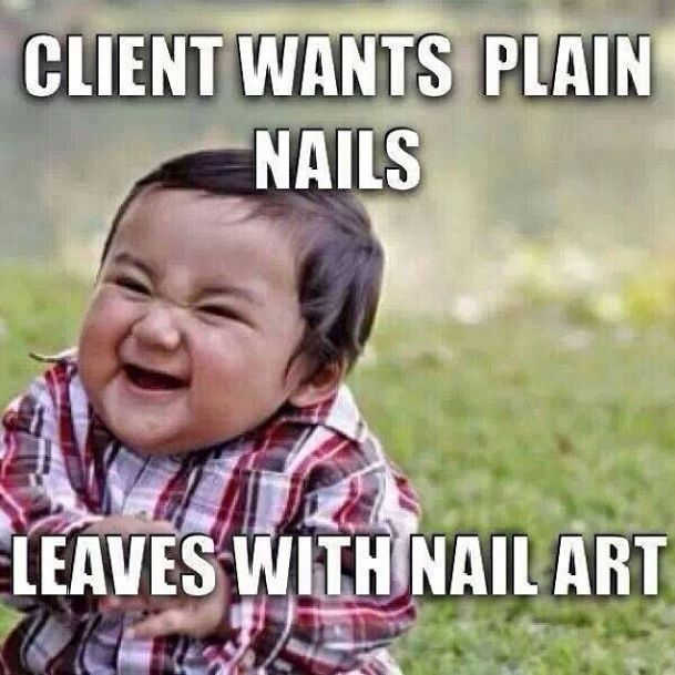 Funny Meme Nails : Best ideas about nail humor on pinterest it is