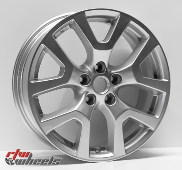 "18"" Nissan Rogue oem replica wheels 2011-2015 Silver rims - https://www.rtwwheels.com/store/shop/18-nissan-rogue-oem-replica-wheels-for-sale-silver-rims-aly62561u20n/"
