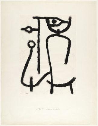 Paul Klee Lady Apart 1940