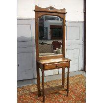 Recibidor Con Espejo Biselado Perchero Dressoire Consola 6.300