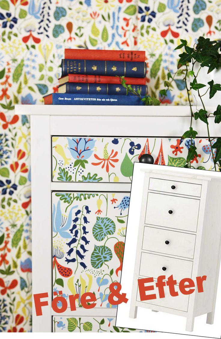 Igår tipsade jag om fina IKEA HACKS som andra gjort och som jag samlat i ett album på Pinterest. Men