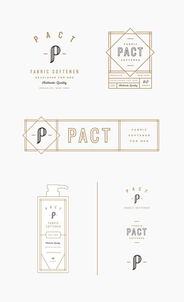 Pact branding comps /