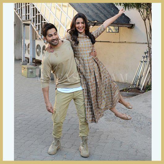Alia Bhatt and Varun Dhawan, Badrinath Ki Dulhaniya promotions, MyFashgram
