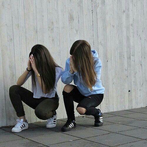 Resultado de imagen de fotos tumblr para imitar con amigas en casa