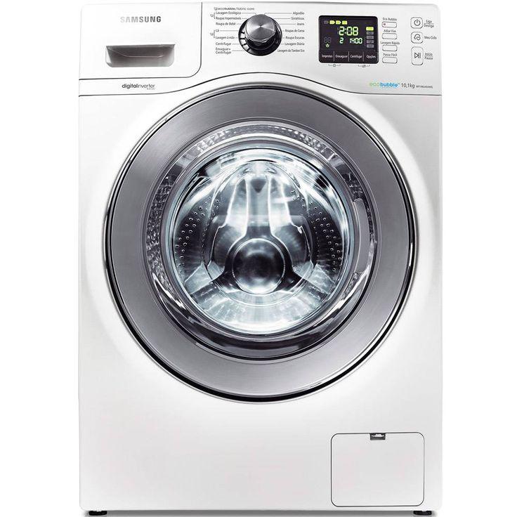 Foto 1 - Lavadora e Secadora Samsung Siene WD106 10Kg Branca