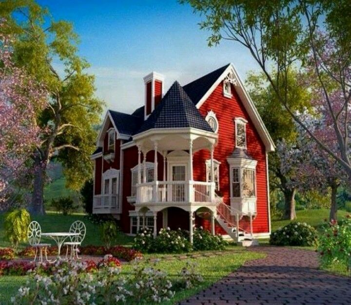 Beautiful Farm House Homesteading Pinterest