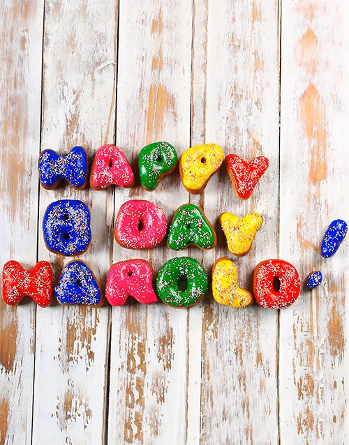 Buy Personalised Doughnuts Online - NetGifts