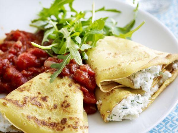 Een vegetarisch weekmenu: gerechten voor elke dag van de week! Van salades tot pasta en flensjes.