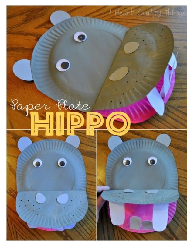 Top 50 Animal Crafts For Kids Hippo Crafts Animal Crafts For Kids Crafts For Kids