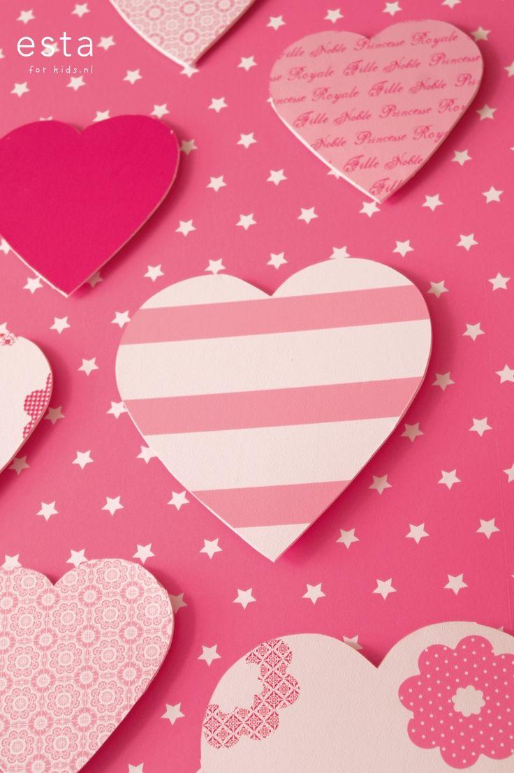 wallpaper smooth pink Hearts & Heroes 114905 #behang #Tapete #papier peint #wallpaper #papel pintado #papel tapiz #carta da parati #effen #roze #smooth #pink #glatt #Rosa #lisse #rose #liscia #rosa #suave #rosa #ESTAhome.nl  ##meisjeskamer #Mädchenzimmer #dormitorio de chicas #chambre fille #camera da letto delle ragazze #girls bedroom #basics #basics #básicos #neutre #basico #basic #roze #Rosa #Rosa #Rose #Rosa #Pink