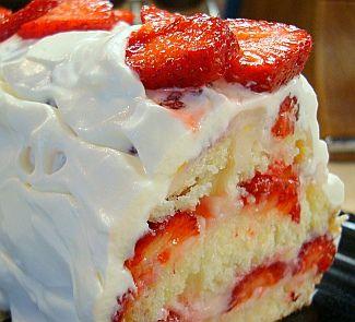 Клубнично-лимонный йогуртовый десерт #strawberry #yougurt #dessert