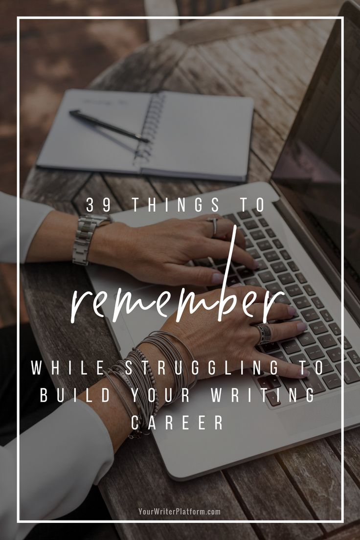 gs 0343 series sample resume%0A    Things to Remember While Struggling to Build Your Writing Career