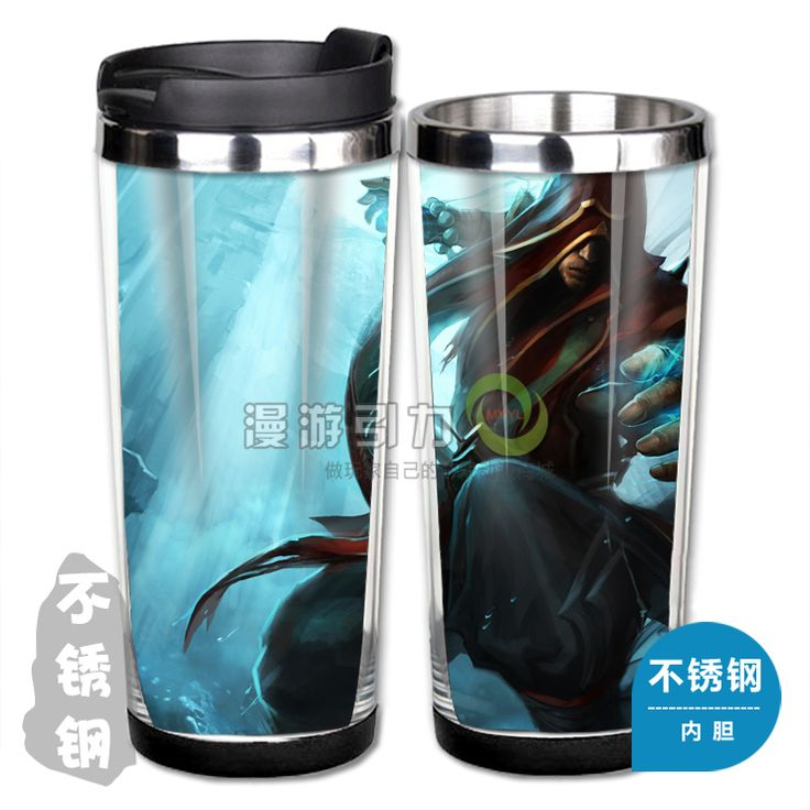 League of Legends LOL Acolyte Lee Sin Stainless Steel Coffee Cup