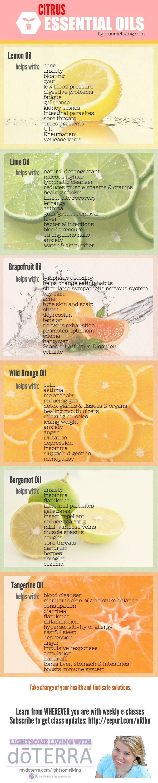 Citrus Oils | Piktochart Infographic Editor