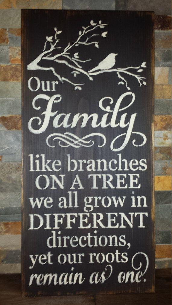 FAMILY BRANCHES Sign/MOTHERS Day Sign/Grandparent Gift/Home
