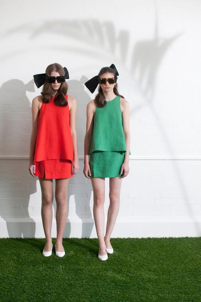 Isa Arfen Spring 2015 Style.com