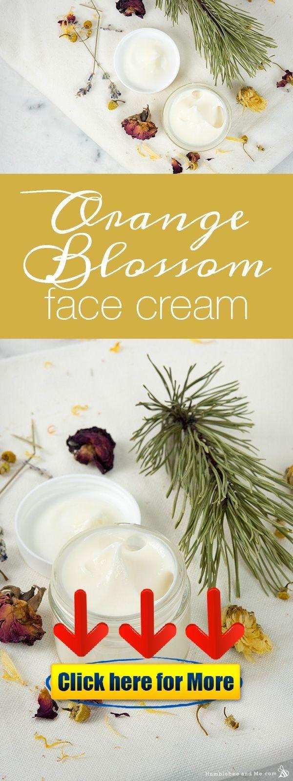 How to Make Orange Blossom Face Cream ? #skincare #skin #antiaging Now tha