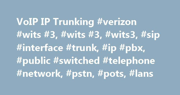 VoIP IP Trunking #verizon #wits #3, #wits #3, #wits3, #sip #interface #trunk, #ip #pbx, #public #switched #telephone #network, #pstn, #pots, #lans http://el-paso.remmont.com/voip-ip-trunking-verizon-wits-3-wits-3-wits3-sip-interface-trunk-ip-pbx-public-switched-telephone-network-pstn-pots-lans/  Personal Wireless Service, devices and accessories. Internet, Phone, and TV FiOS service for the home. Business Enterprise Technology Wireless Solutions Solutions and services for organizations with…