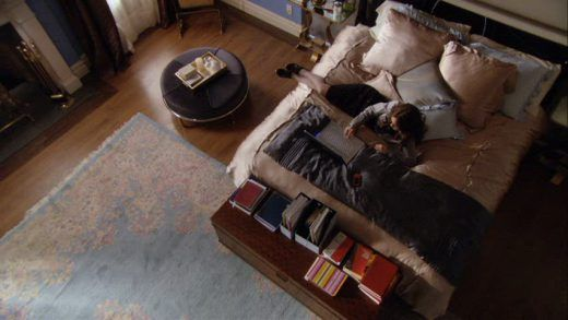 Blair Waldorf bedroom