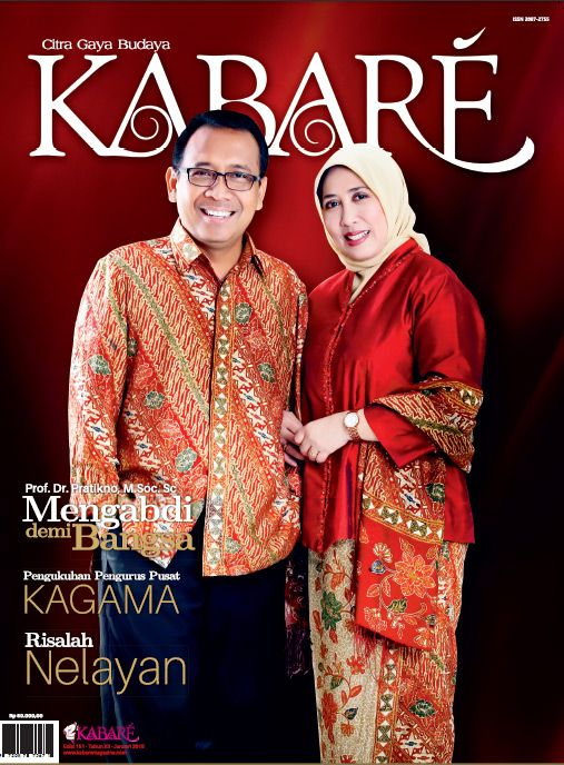 Kabare Magazine edisi Januari 2015