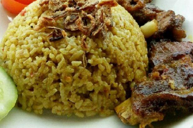 Resep Nasi Kebuli Kambing Sederhana Lengkap Resep Makanan Sehat Resep Makanan India