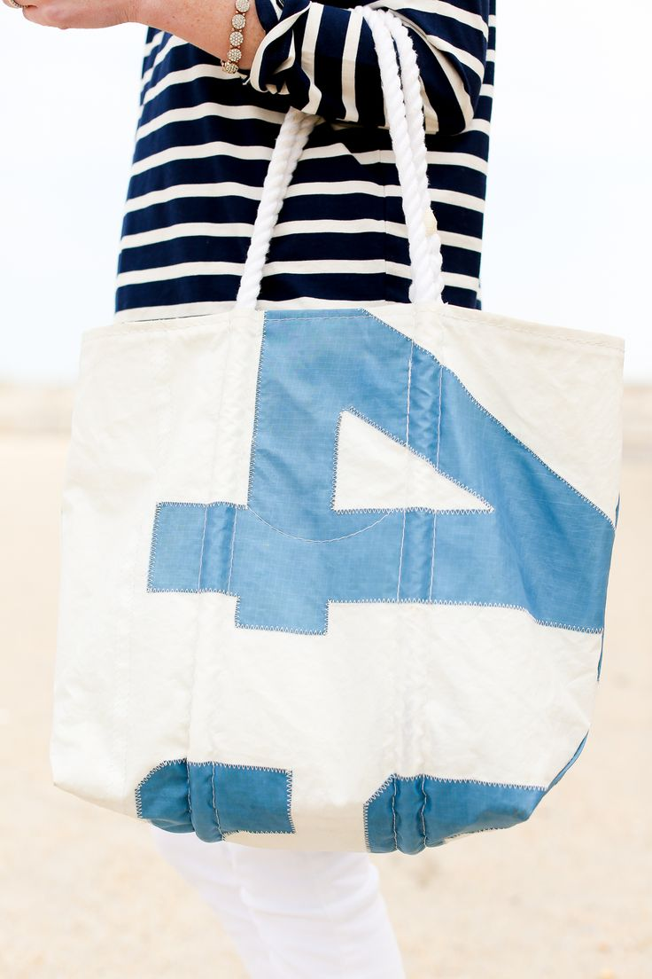 J.Crew Pom-Pom T-Shirt and White Jeans / Converse Sneakers / SeaBags Tote / Tory Burch Earrings / Vintage Scarf,