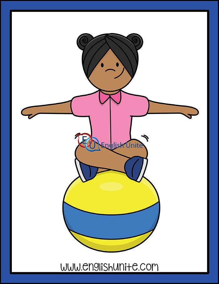 Idiom On The Ball English Unite Clip Art Idioms Kids Clipart
