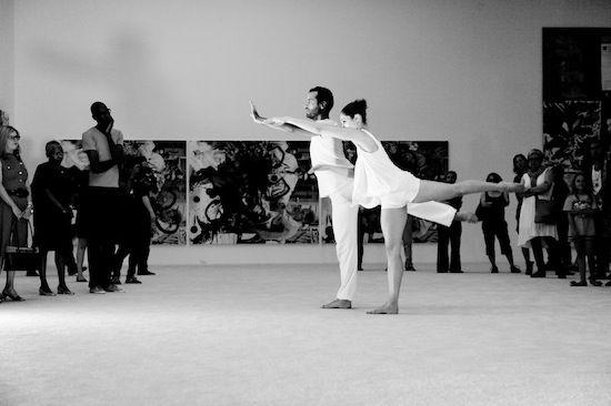 Benjamin Millepied, Black Swan's Star Choreographer, Danced Through MOCA's Galleries Last Night - Los Angeles Arts - Public SpectacleBenjamin Millepied, Angels Art, Gallery Thursday, Black Swan, Center Back Dance, Dance Projects, Site Specific Dance, The, Choreographer