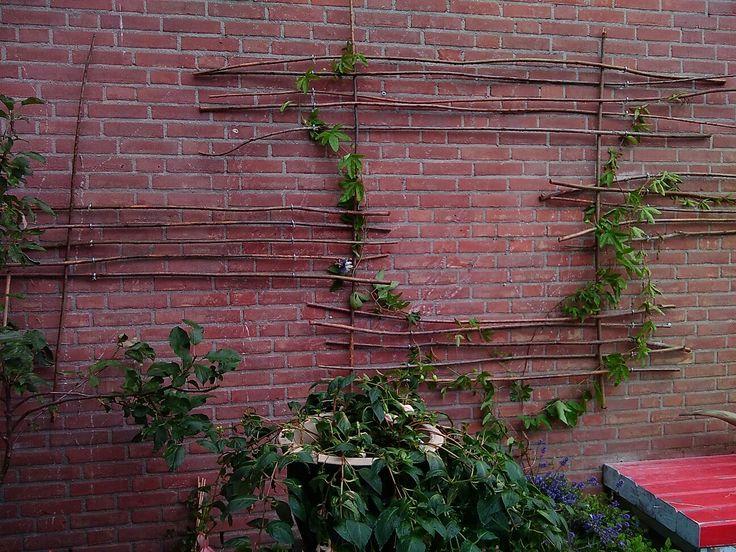 25 beste idee235n over buiten wanddecoraties op pinterest