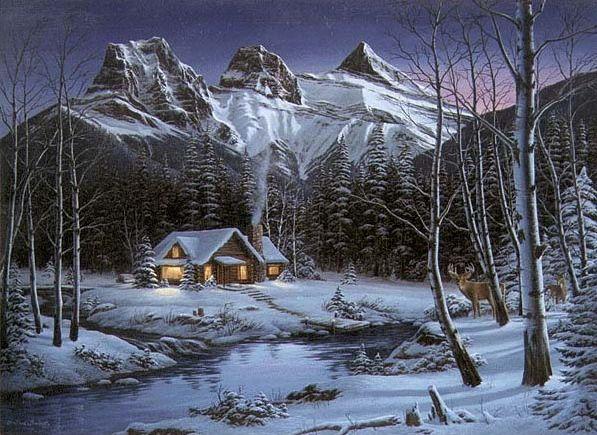 FRED Buchwitz Winter Solitude