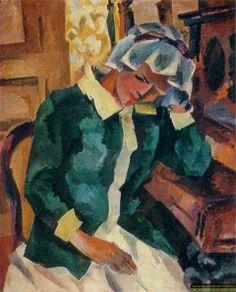 Robert Falk - Woman at the Piano