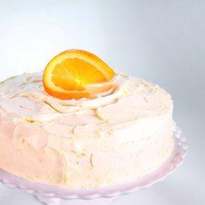 Triple Orange Cake Carla Hall