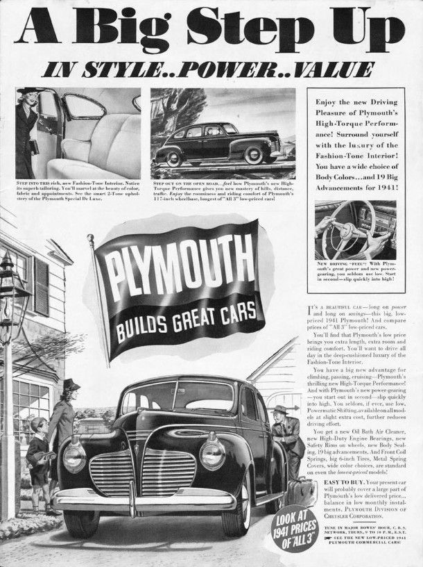 Vintage Look Reproduction 1950 Plymouth Suburban Metal Sign