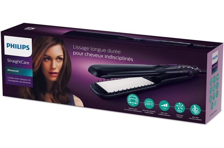 Lisseur Philips HP8338/20 StraightCare