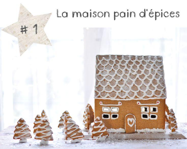 17 best images about maison en pain d 39 pice on pinterest for Pain d epices maison