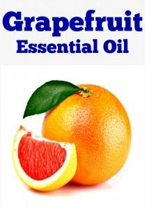 how to use grapefruit essential oil for hair