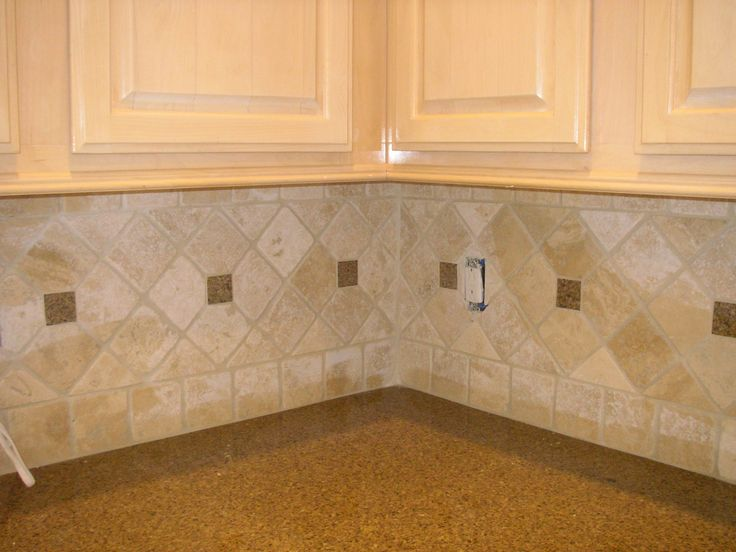 Kitchen Backsplash Diagonal Pattern best 10+ travertine backsplash ideas on pinterest | beige kitchen