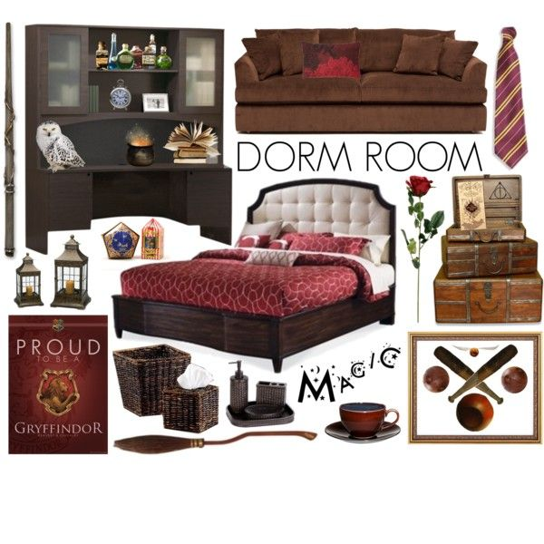 Gryffindor Dorm Room Décor By Fishystarz On Polyvore