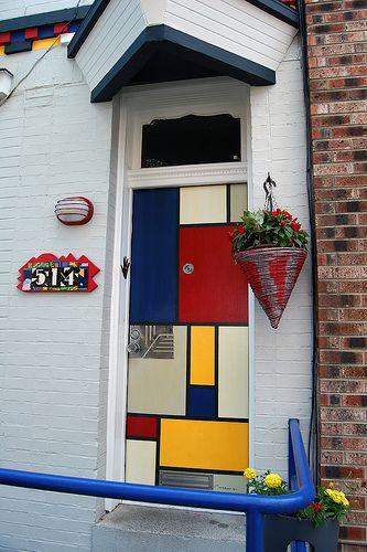 Mondrian #Door http://fraleymasonry.net/