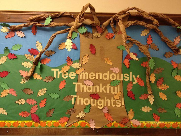 Classroom Door Ideas November ~ Thanksgiving bulletin board ideas for school pinterest