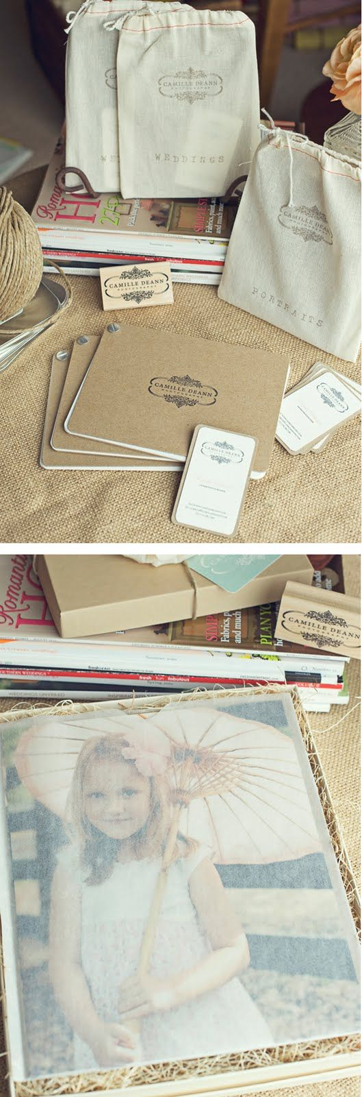 Love this packaging!  How simple to diy, too.