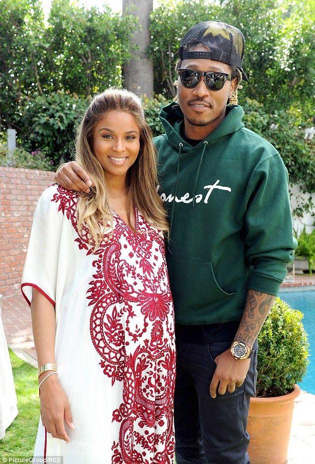Stephan Noli Blog: Ciara And Fiance Future Welcome A Baby Boy