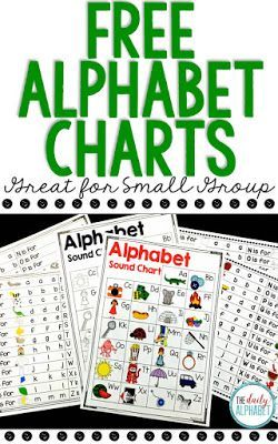 This ABC Phonics Chart and Alphabet Sound Chart are great for students who are learning about the sounds that each letter makes. They can be used as a whole class review, intervention activity, and can also be sent home for additional practice!